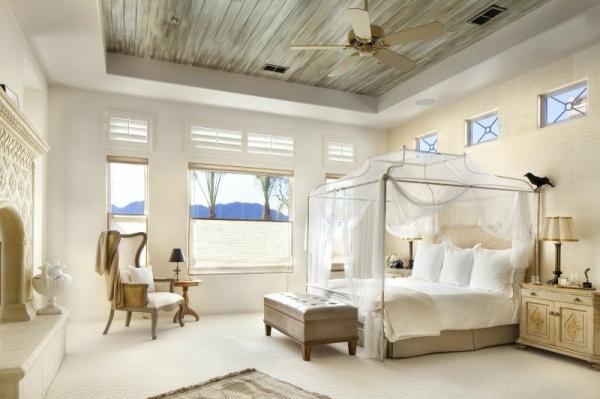 Белая кровать для спальни — классические взгляды на шикарный интерьер в фото обзоре!