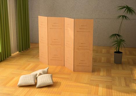 Декоративная ширма — изюминка любого интерьера в фото