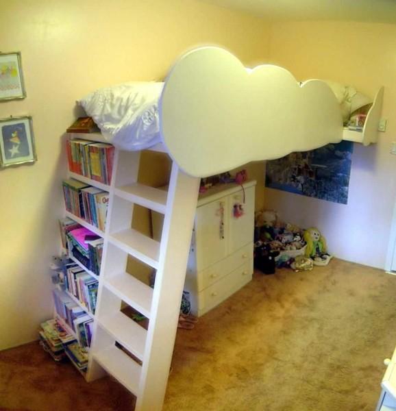 Делаем кровать чердак сами (2 фотоотчета + чертежи) в фото