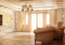 Дизайн обоев для зала: 10 советов в фото