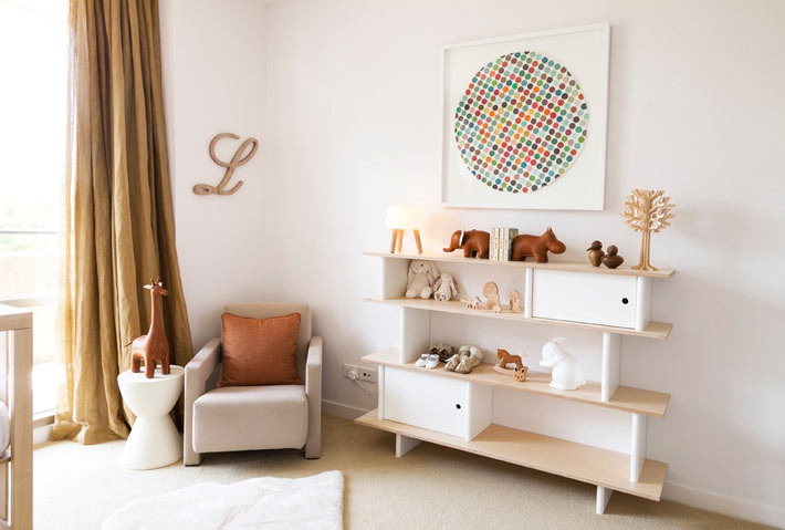 Идеи декора интерьера комнат для младенцев от Little Liberty в фото