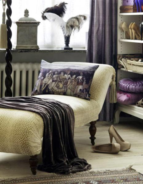 История одной красивой гардеробной комнаты в фото