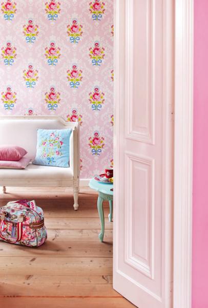 Изумительные обои PIP Studio — праздник красок и цвета в фото