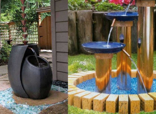 Как сделать фонтан: 6 типов в фото