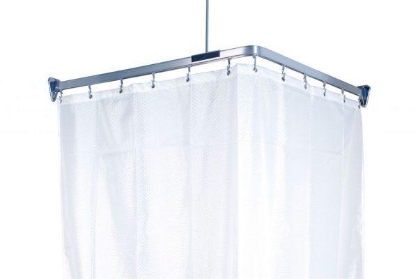 Как сделать шторку для ванной своими руками в фото