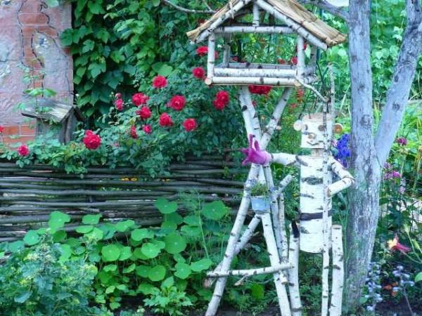 Как украсить садовый, приусадебный, дачный участок (50 фото) в фото