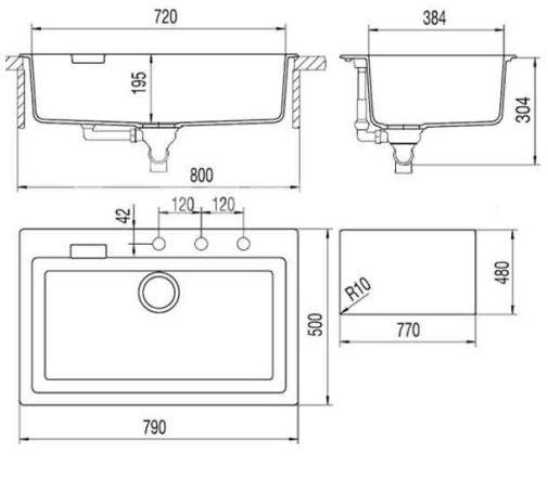 Как установить современную кухонную мойку? в фото