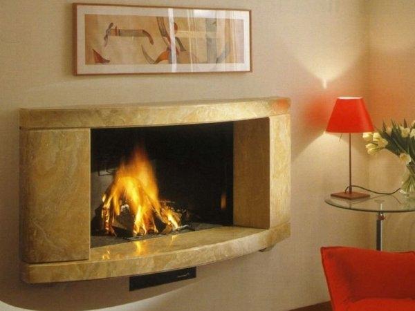 Камины в интерьере гостиной своими руками — красочные фото, особенности монтажа и виды конструкций