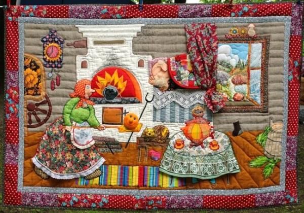 Картины из лоскутов ткани: мастер-классы и вдохновляющие идеи своими руками