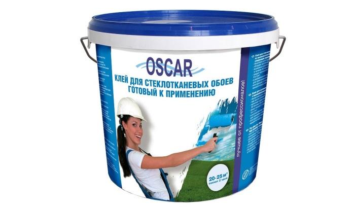Клей для стеклообоев Оскар в фото