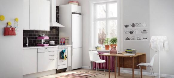 Красивые скандинавские кухни в фото