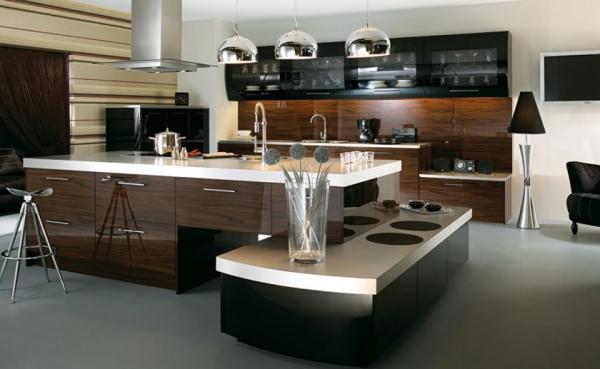 Кухня в стиле хай тек — 83 фото предложения для самого современного дизайна!