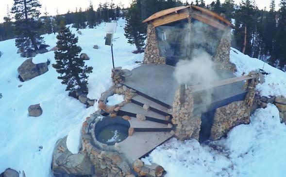 Мечта сноубордиста: фото домика в горах