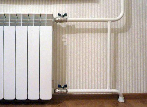 Монтаж и подключение радиаторов отопления своими руками в фото