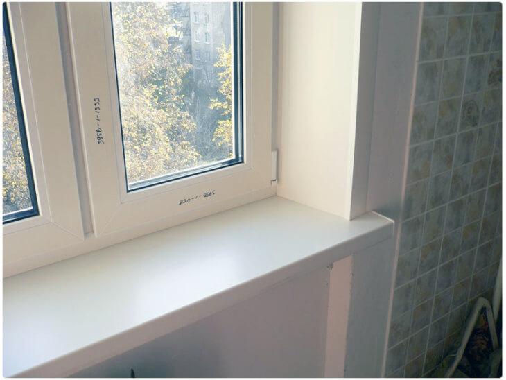 Монтаж откосов для пластиковых окон в фото
