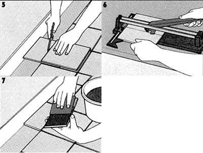 Можно ли класть плитку на линолеум: процесс укладки в фото