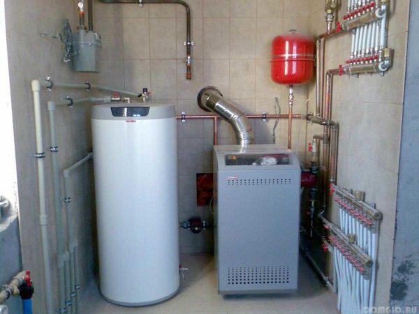 Нормативы для установки газового котла в фото