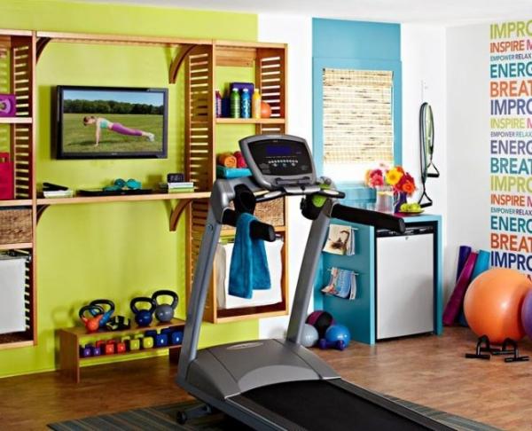 Оформление спортивного уголка в квартиру: 70+ функциональных идей для небольших комнат