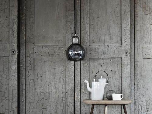 Оригинальная люстра «лампочка» в фото