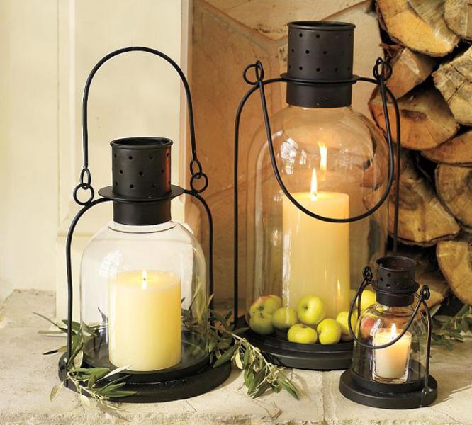 Особая атмосфера — украшаем интерьер свечами! в фото