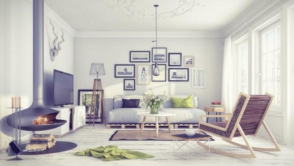 Особенности оформления гостиной в английском и скандинавском стилях
