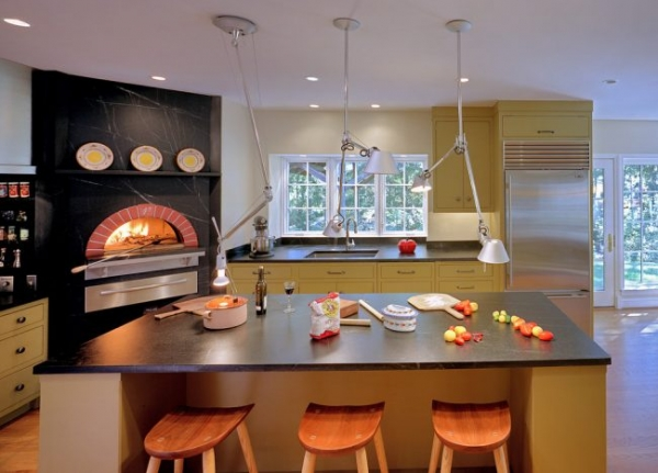 Печь голландка: 80 уютных реализаций в стиле кантри, шале и модерн