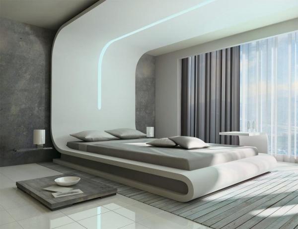 Подиум в спальне — оригинальный способ оформления в лучшем интерьере!