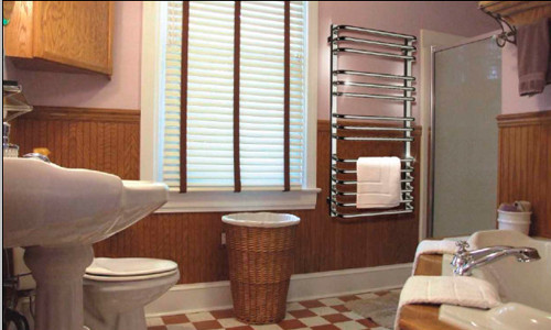 Подключение водяного полотенцесушителя в фото