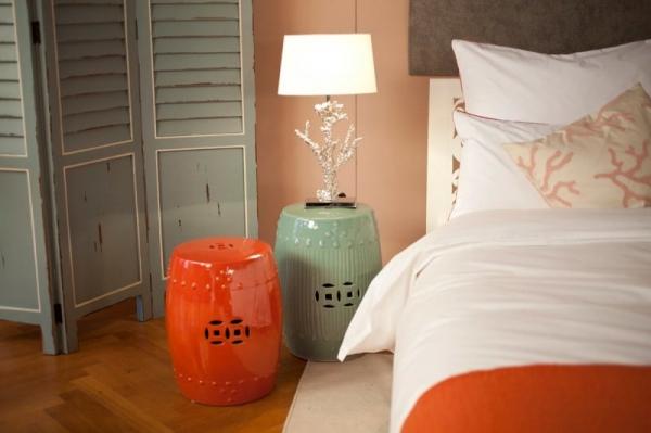 Пуфики для спальни — практичность и удобство в одном маленьком дополнении….