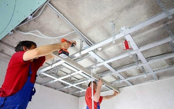 Шумоизоляция под натяжной потолок – звукопоглощающие материалы