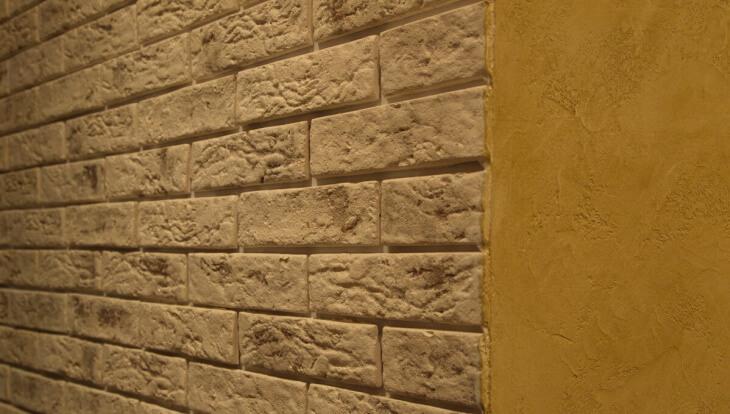 Создаем имитацию кирпичной стены своими руками в фото