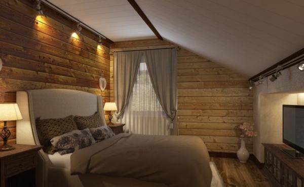 Спальня в стиле кантри: дизайнерские идеи + 57 фото примеров