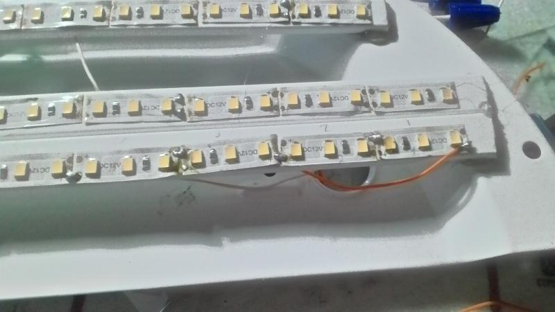 Светодиодный светильник своими руками в фото