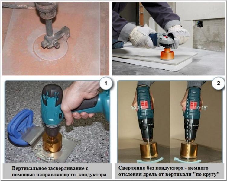Технология укладки керамогранита на пол своими руками в фото