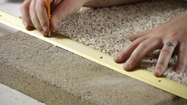 Укладка ковролина своими руками – технология и видео