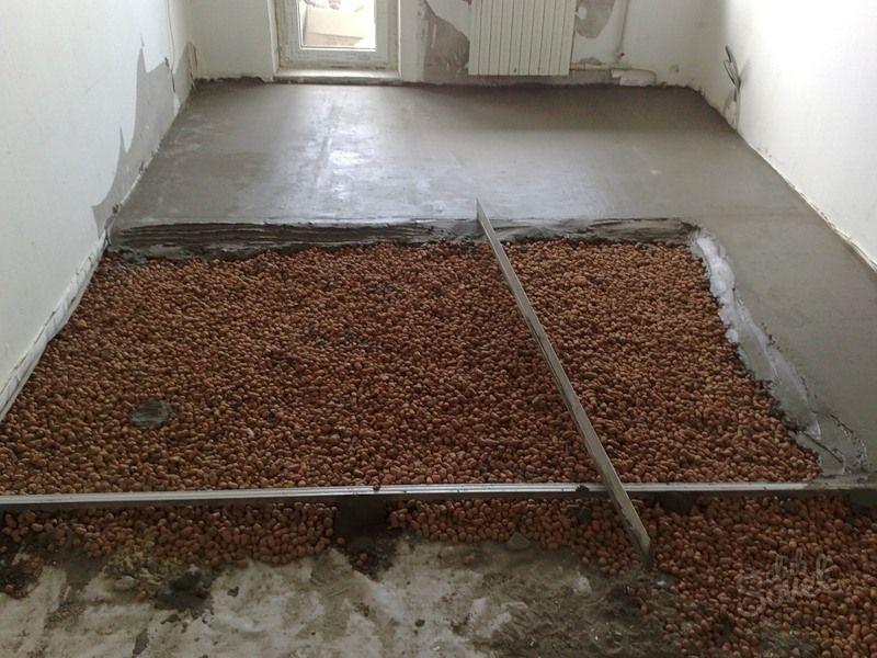 Утеплитель для пола по бетону под стяжку: как и чем утеплить в фото