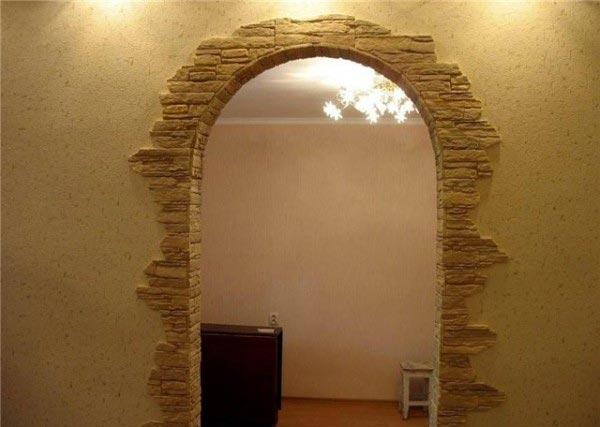 Варианты отделки арки: материалы и технологические нюансы в фото