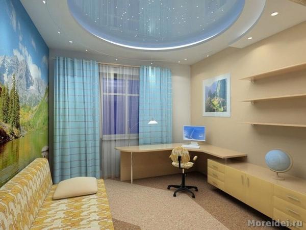 Выбор обоев для детской комнаты подростка