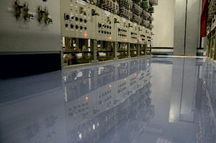 Виды и технология заливки полимерных наливных полов в фото