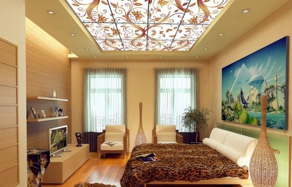 Витражные потолки своими руками – принципы монтажа