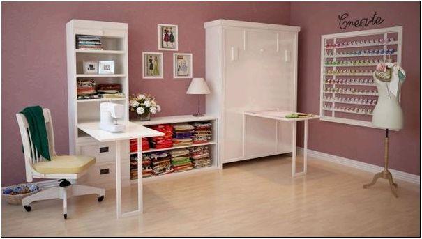 Кровать-стол для швеи