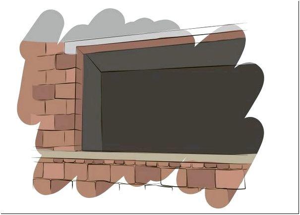 Рисунок 4 — Монтаж окон в каркасном доме со вставками и накладками для установки