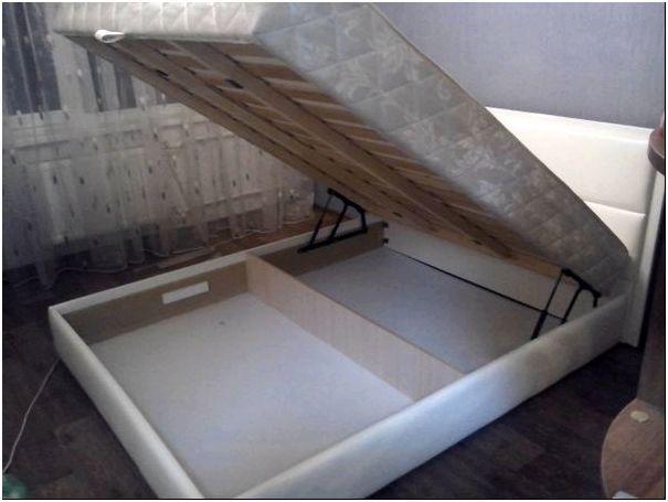 Фото 2 - Каркас кровати из древесно-стружечной плиты со сплошным днищем