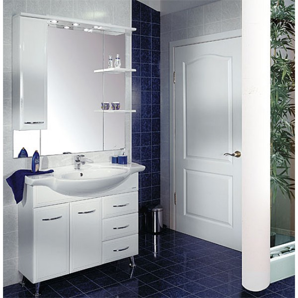 Виды мебели для ванных комнат от фирмы акватон