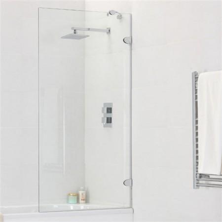 Выбор стеклянной шторки для ванной: достоинства и недостатки решения