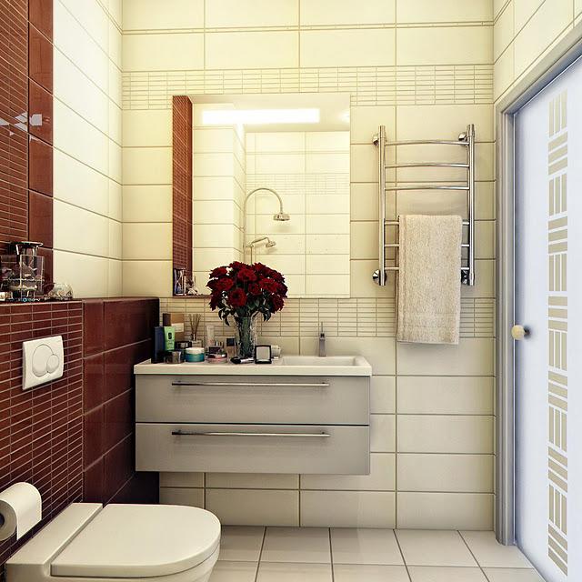 Актуальные идеи для маленькой ванной комнаты