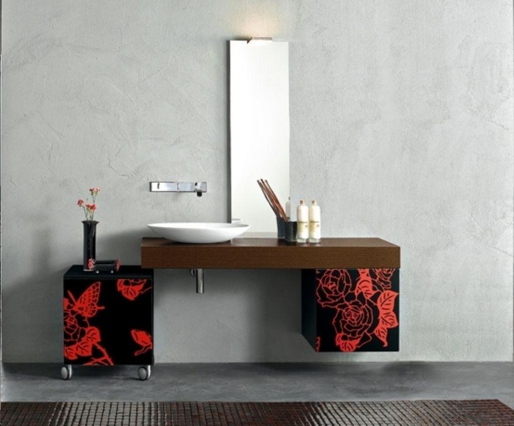 Актуальные идеи современного оформления ванной комнаты в ярких оттенках
