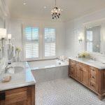 Comfortable White Bathroom Designs 4