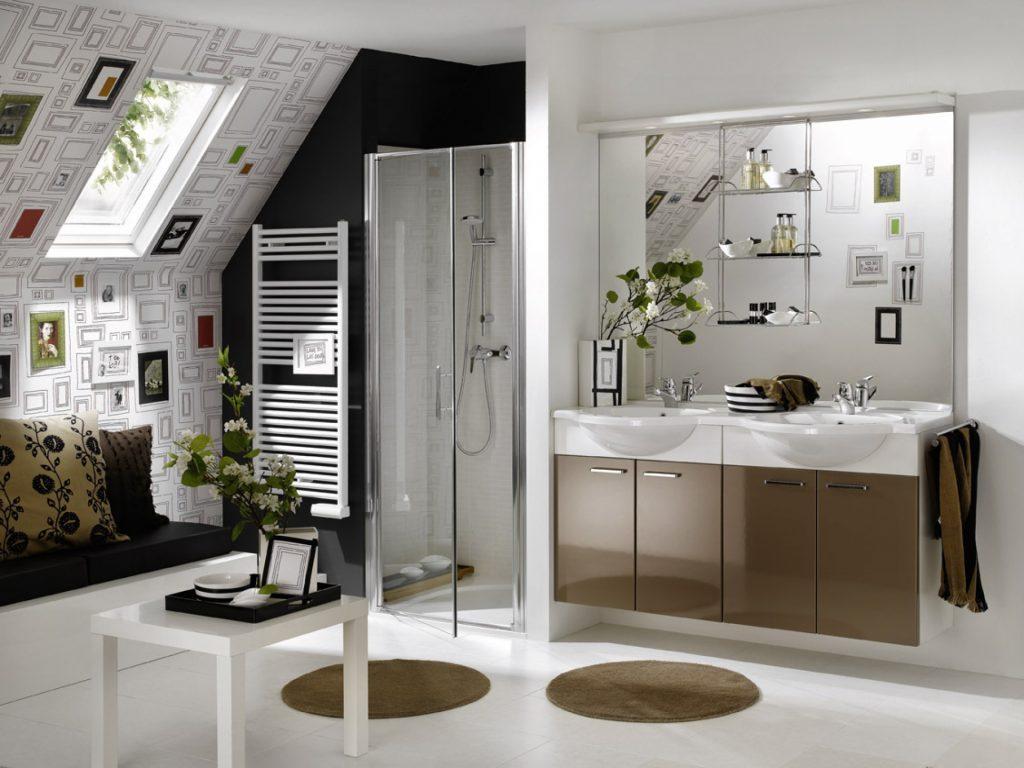 Идеи дизайнерского оформления для большой ванной комнаты