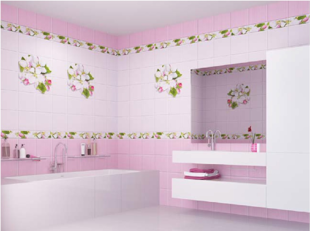 Дизайнерские стеновые панели для оригинальной ванной комнаты